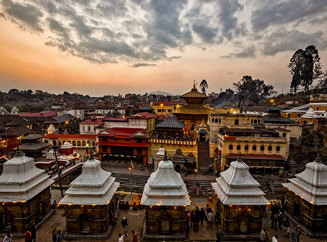 Nepal package with Air India from Kolkata